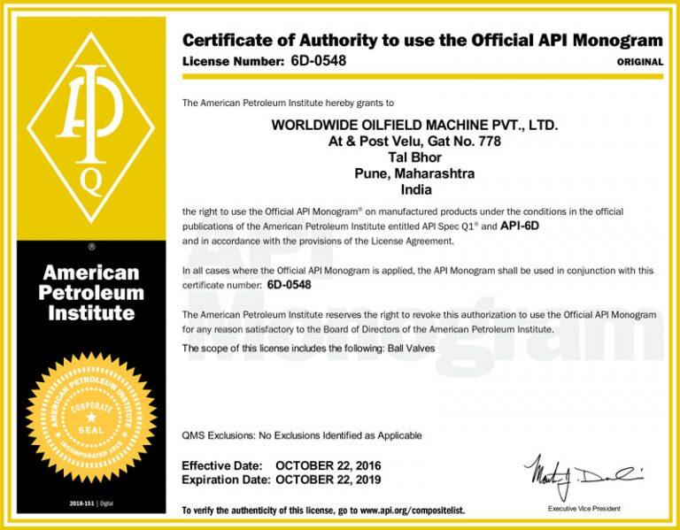 API-6D-India