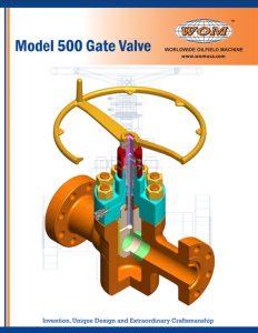 Model 500 Gate Valve Catalog