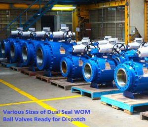 Patented Dual-Seal Ball Valves