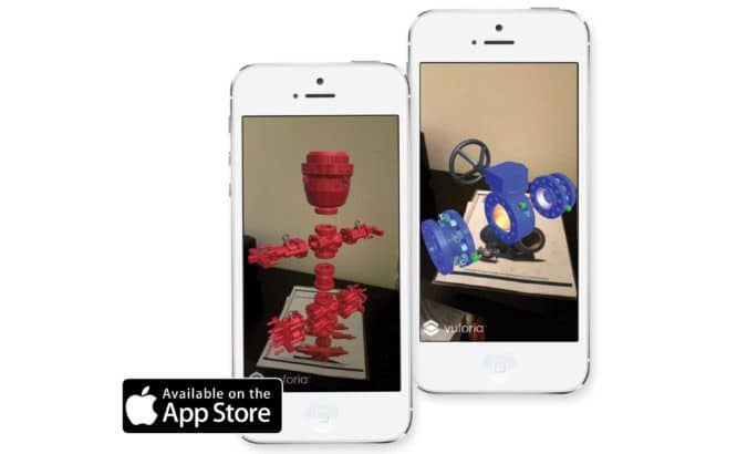 WOM Augmented Reality App