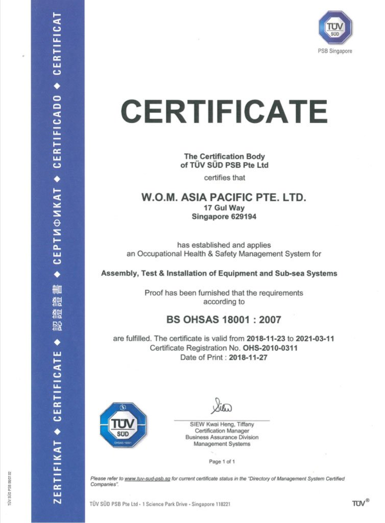 BS-OHSAS-18001