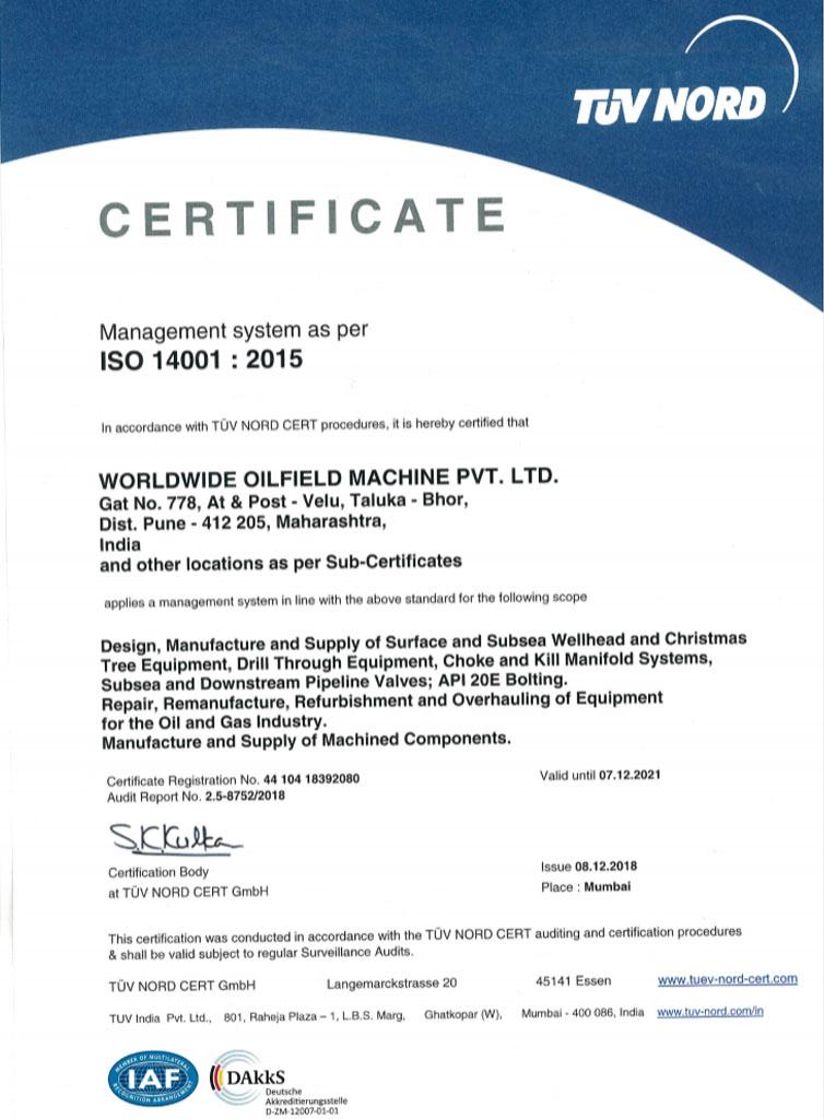 India-ISO-14001