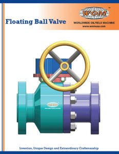 WOM Floating Ball Valve