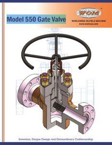 Model 550 Gate Valve