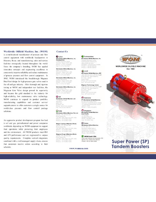 WOM SP Tandem Booster