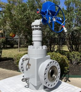 GateValve-with-electric-gear-actuator2